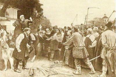 Крестьянское движение в 1902 году.