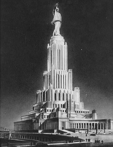 Социалистическая Москва, город свободных людей. Сталинский СССР