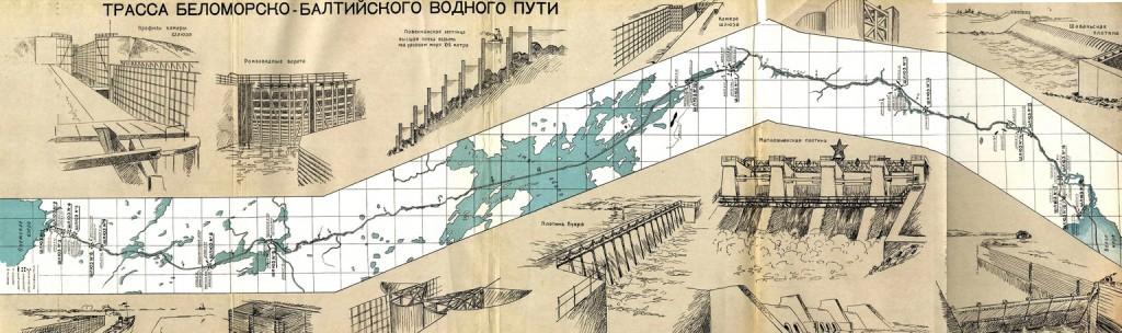 ПРАВДА СОЦИАЛИЗМА. Беломорско-Балтийский канал имени Сталина История строительства