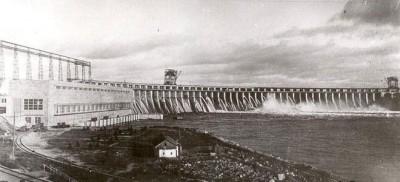 10 октября 1932 - Торжественное открытие Днепрогэса