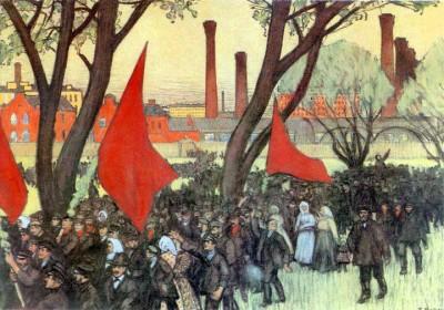 Революция 1905 года. Появление Советов рабочих депутатов