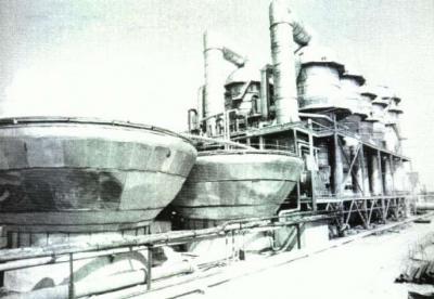 Первая в мире советская атомная установка для опреснения соленой воды. Город в пустыне