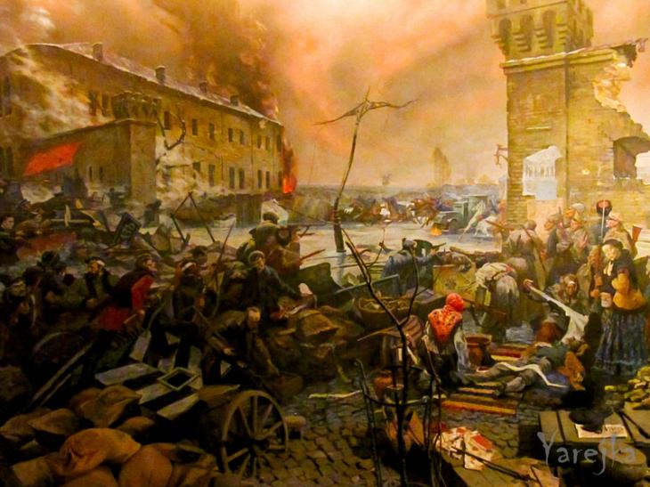 16 января 1918 года в Киеве началось вооружённое восстание рабочих против рады.