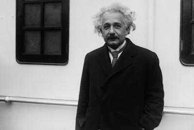 Альберт Эйнштейн. Львов Владимир