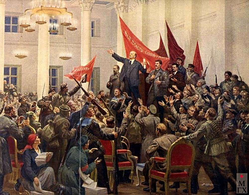 Приглашение в Музей Ленина. По залам центрального музея В.И.Ленина. Часть 1