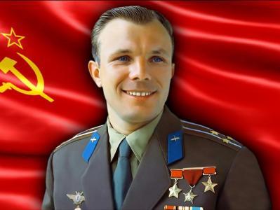Годовщине первого полета в космос советского человека, коммуниста Юрия Алексеевича Гагарина посвящается.