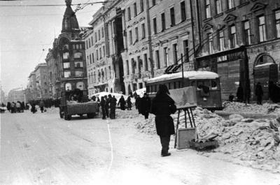Ленинградская блокада. Мужество защитников города Ленина