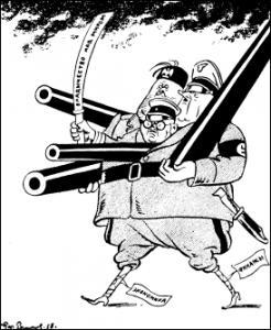 Антикоминтерновский пакт. Цели второй мировой войны