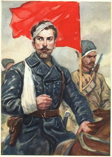 Памяти украинского Чапаева -Щорса Николая Александровича, героя Гражданской войны