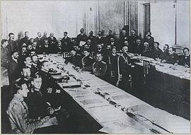 3 марта 1918 года - подписание Брестского мира. История