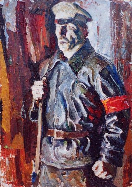История гражданской войны в СССР. Красная гвардия. 2. Красная гвардия в столице
