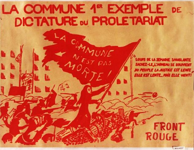 Париж рабочих с его Коммуной всегда будут чествовать, как славного предвестника нового общества