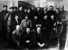 18 — 23 марта 1919 года в Москве проходил Восьмой съезд Российской коммунистической партии (большевиков)