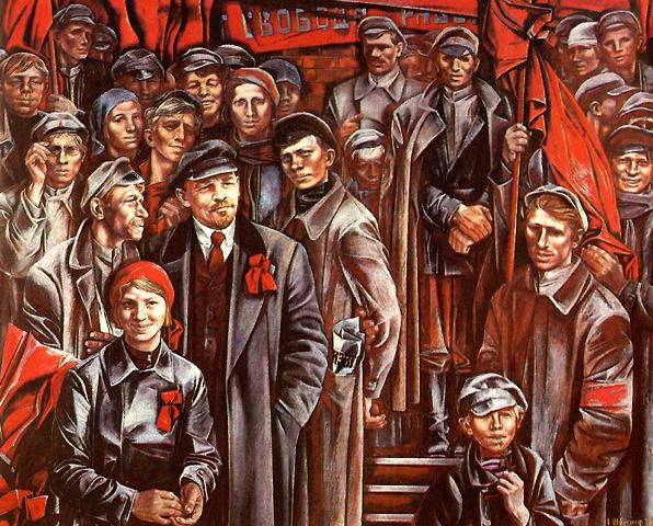 История Великого Октября. Разгром антисоветского мятежа Керенского и Краснова.