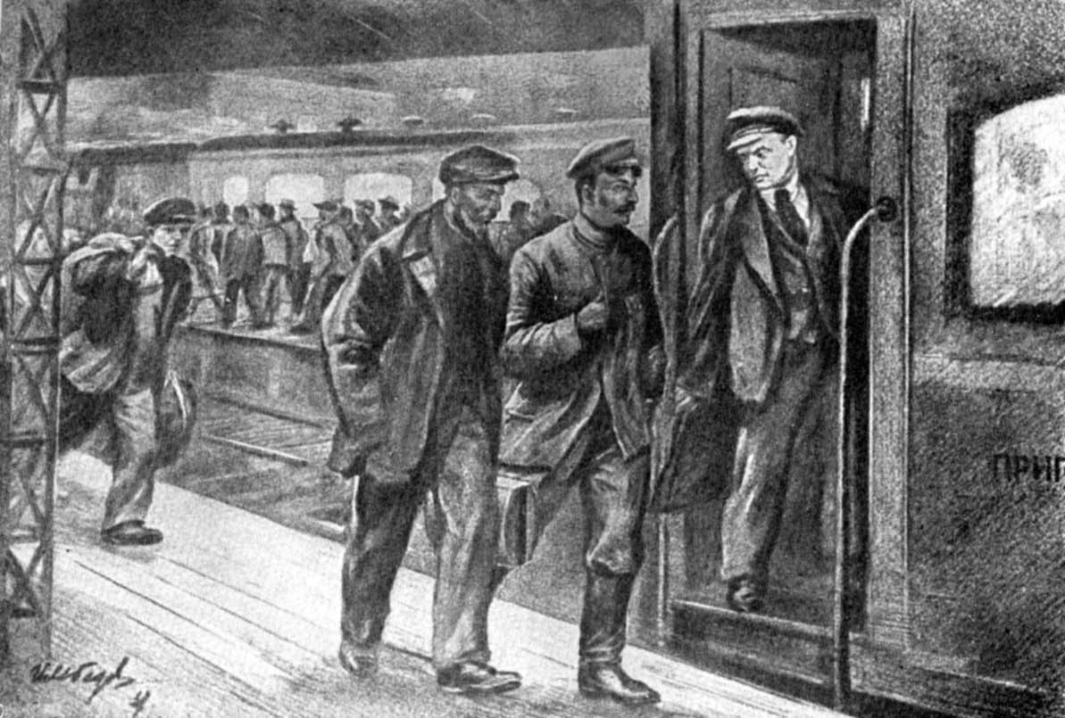Июль - август 1917 года. В.И. Ленина привлекают к суду. Ответ тов. Н. Ленина