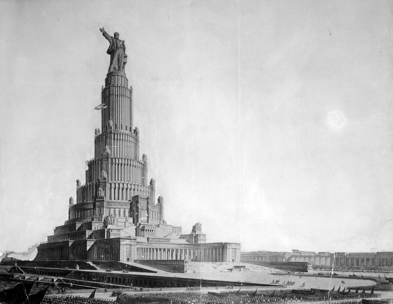 Cоветская архитектура: от дворцов к коробкам