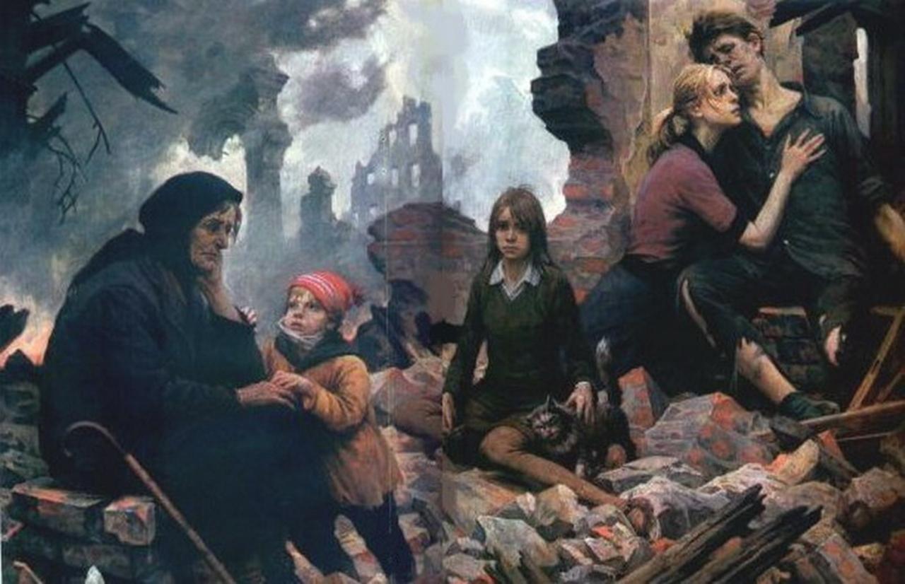 Саласпилс. Подвиг женщин Латвии. Дети и империализм