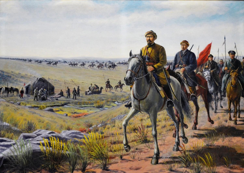 Борьба за советскую власть в Средней Азии.