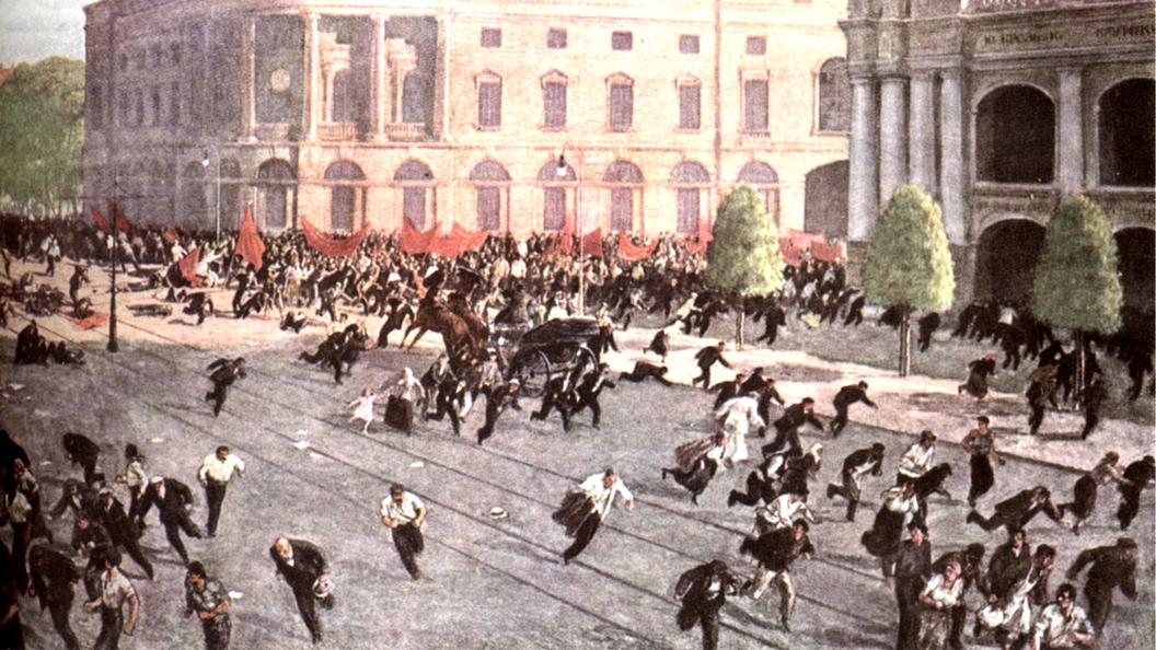 Уроки истории. Неудачное наступление войск Временного правительства на фронте. Подавление июльской демонстрации рабочих и солдат