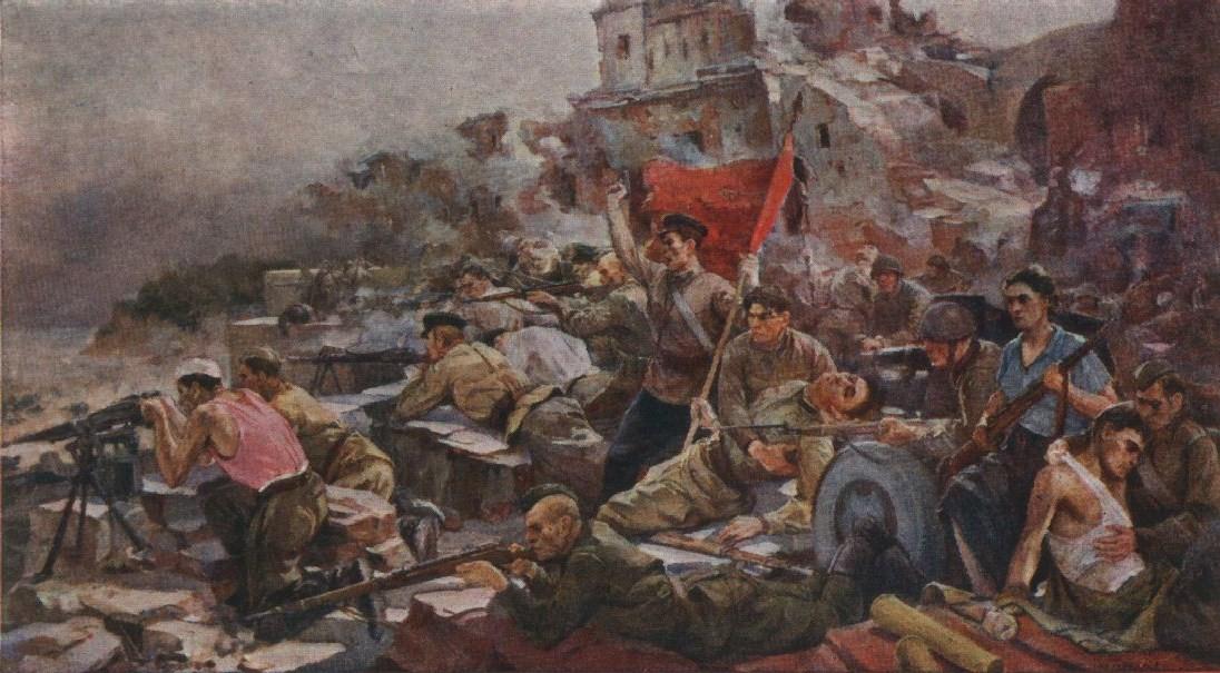 Крушение фашистских планов молниеносной войны.