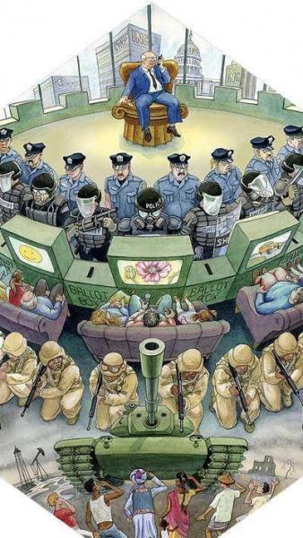 Правосудие в мире, которым управляет капитал. Лабиринт