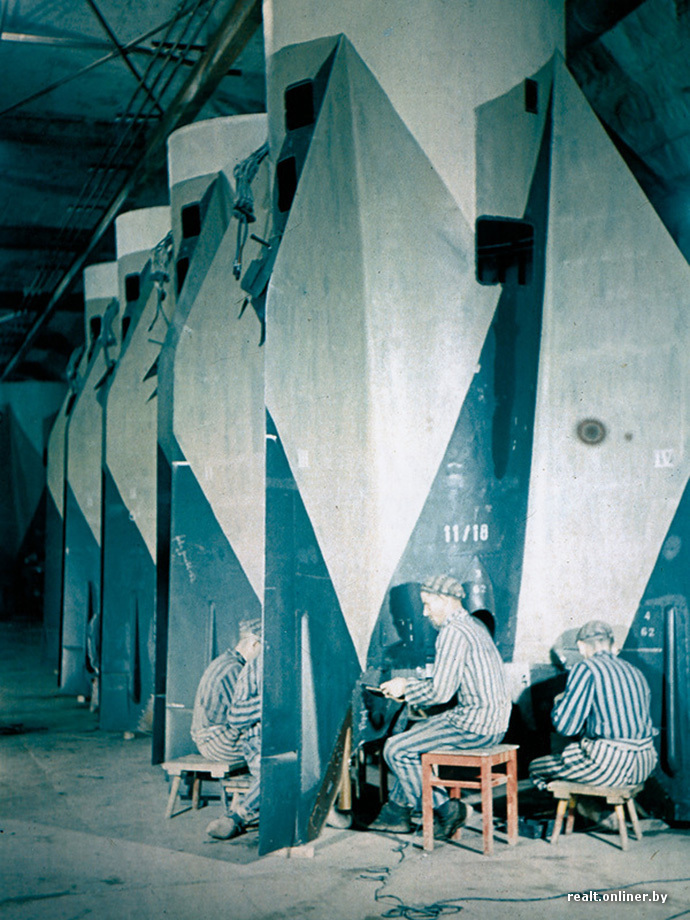 Подземные цитадели Гитлера: история секретных военных заводов нацистов