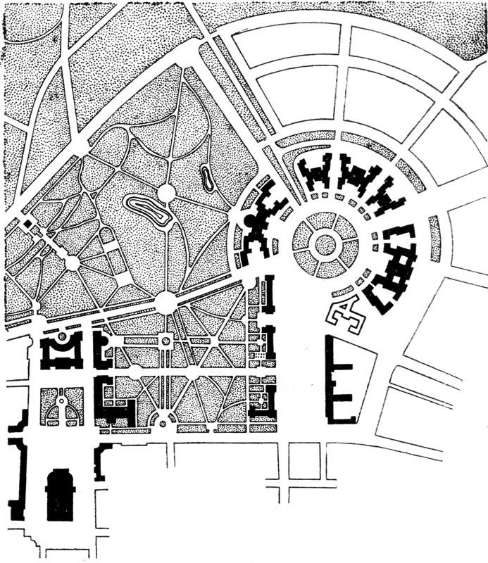 Площадь Дзержинского в Харькове. Генеральный план
